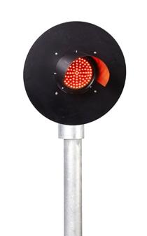 Bi-Colour Mainline Railway Signal – Red Green